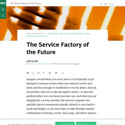 The Service Factory of the Future