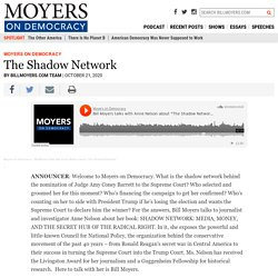 NEW PODCAST: The Shadow Network – BillMoyers.com