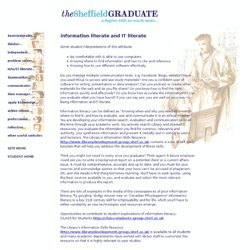 The Sheffield Graduate