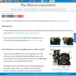 The Shinyei experiment