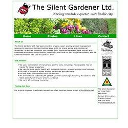 The Silent Gardener - Home