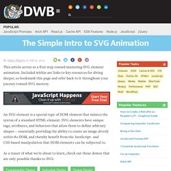The Simple Intro to SVG Animation