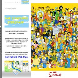 The Simpsons - StoryMap