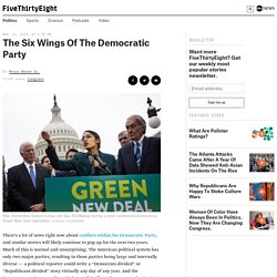 The Six Wings Of The Democratic Party