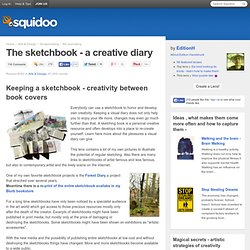 The sketchbook - a creative diary