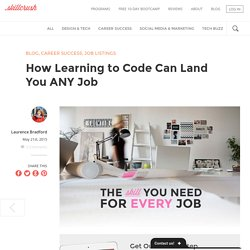 Why learning to code can help you land any job