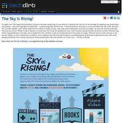 The Sky Is Rising | Techdirt.