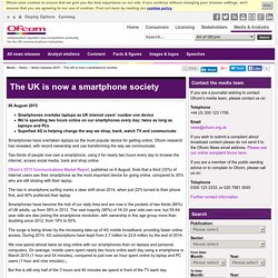 The UK is now a smartphone society