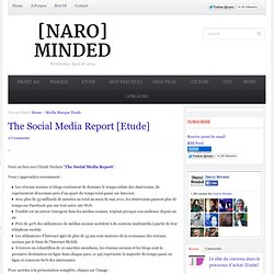 The Social Media Report [Etude]