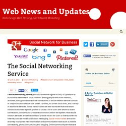 The Social Networking Service