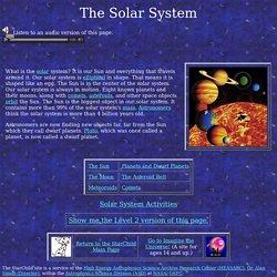 StarChild: The Solar System