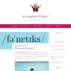 The Sound of English – It's English O'Clock !