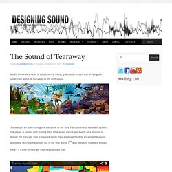 The Sound of Tearaway