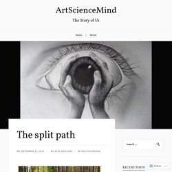The split path – ArtScienceMind