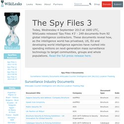 The Spy Files