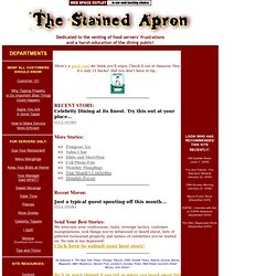 The Stained Apron