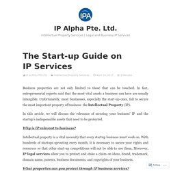 Start-up Guide on IP Services