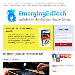 Emerging Education Technologies #edtechbc