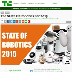 The State Of Robotics For 2015