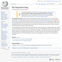 The Stopwatch Gang - Wikipedia