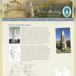 The Story of the Old Baldy Lighthouse