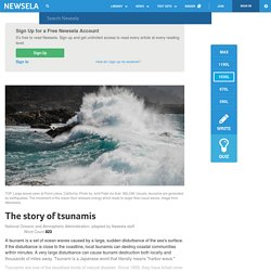 The story of tsunamis