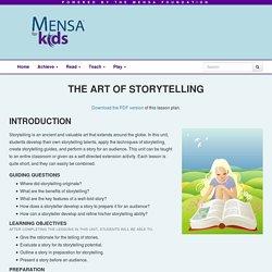 The Art of Storytelling - Mensa for Kids
