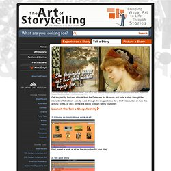 The Art Of Storytelling » Tell A Story