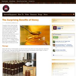 Benefits of Honey | Honey Food Storage | The Survival Spot Blog
