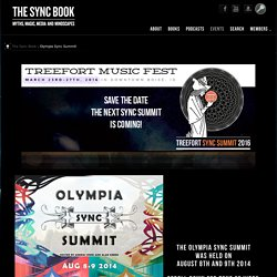 The Sync Book – Olympia Sync Summit