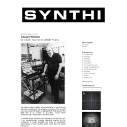 THE SYNTHI