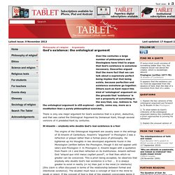 The Tablet -