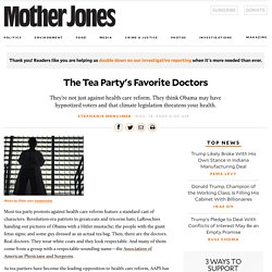 The Tea Party's Favorite Doctors