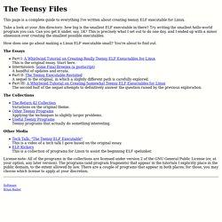 The Teensy Files