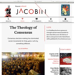 The Theology of Consensus