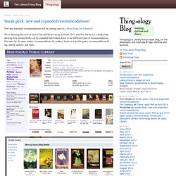 The Thingology Blog