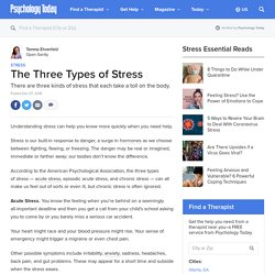 The Three Types of Stress