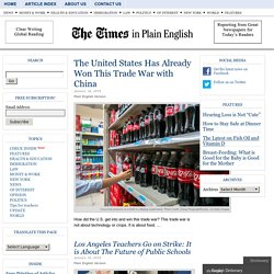 The Times in Plain English