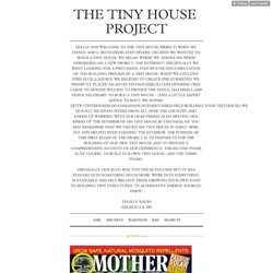 The Tiny House Project
