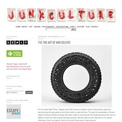 The Tire Art of Wim Delvoye