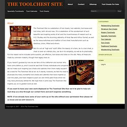 The Toolchest Site About - The Toolchest Site