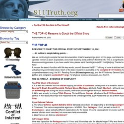 THE TOP 40 - 911truth.org