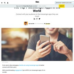The Top 7 Messenger Apps in the World
