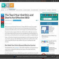 The Top 6 Year-End Do's and Don'ts for Effective SEO