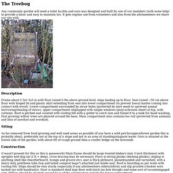 The Treebog (Composting Toilet)