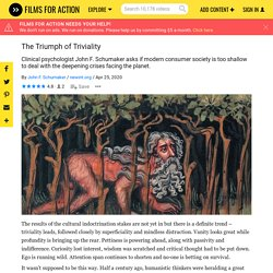 The Triumph of Triviality