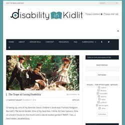 The Trope of Curing Disability