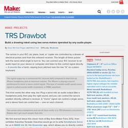 The TRS Drawbot: A Drawing Robot