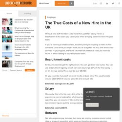 The True Costs of a New Hire in the UK