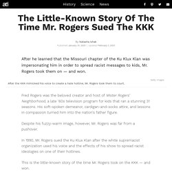 The True Story Of How Mr. Rogers Sued The KKK And Won